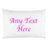 ANY TEXT PILLOW PINK