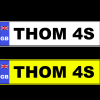NUMBER PLATE AD3